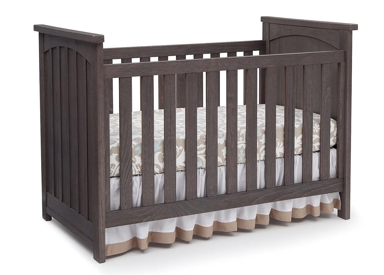 Amazon Serta Northbrook 3 In 1 Convertible Crib Rustic Grey Baby