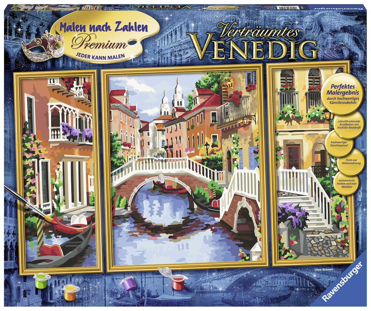 Ravensburger 28914 28914 - Dreamy Venice Painting by Numbers
