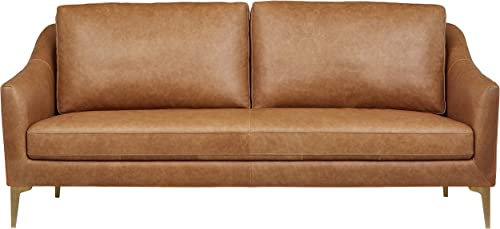Amazon Brand Rivet Alonzo Contemporary Leather Sofa Couch Review