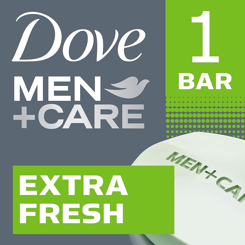 Dove Men+Care Body and Face Bar Extra Fresh 3.17 oz, 48 Pieces
