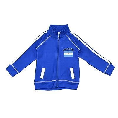 PAM GM Little Boys Argentina Soccer Track Jacket