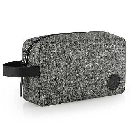 89a12c965 GAGAKU Hombre Dopp Kit Impermeable Neceser Bolsa de Aseo Neceser de Viaje  Bolsa de Cosmético -