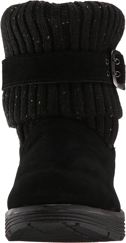 Skechers Adorbs - Zapato botín de Piel Mujer Negro 9CXQV