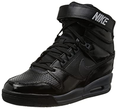 NIKE Air Revolution Sky Hi Black Black Compensated Black Size 6.5