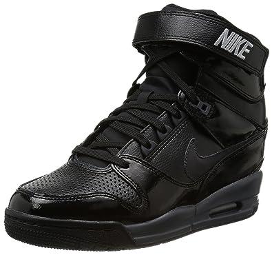 NIKE Air Revolution Sky Hi Black Black Compensated Black Size 6.5