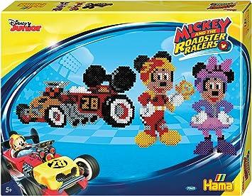 Hama Beads Disney Mickey y la Roadster Carreras Caja de Regalo: Amazon.es: Juguetes y juegos