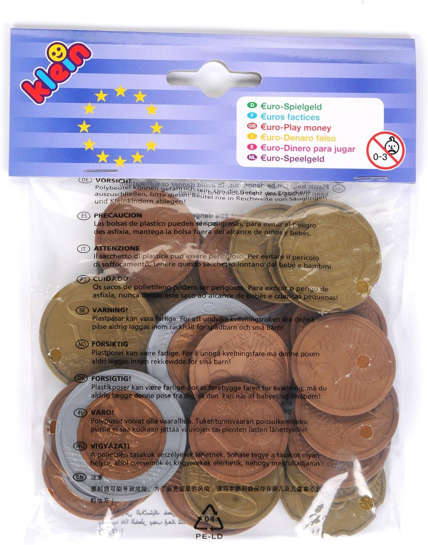 Theo Klein-9610 Euro dinero para jugar, juguete, Multicolor (9610)