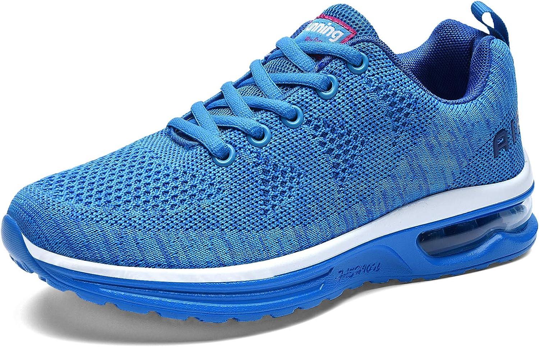 US5.5-10 B RomenSi Womens Lightweight Air Cushion Running Shoes Fashion Walking Tennis Sneakers/ M