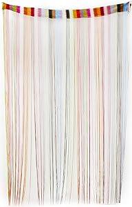 Twerp Door String Curtains   Set of 2 Fringe Panels   Door, Window or Closet Curtains   6.5' Long x 3.2' Wide