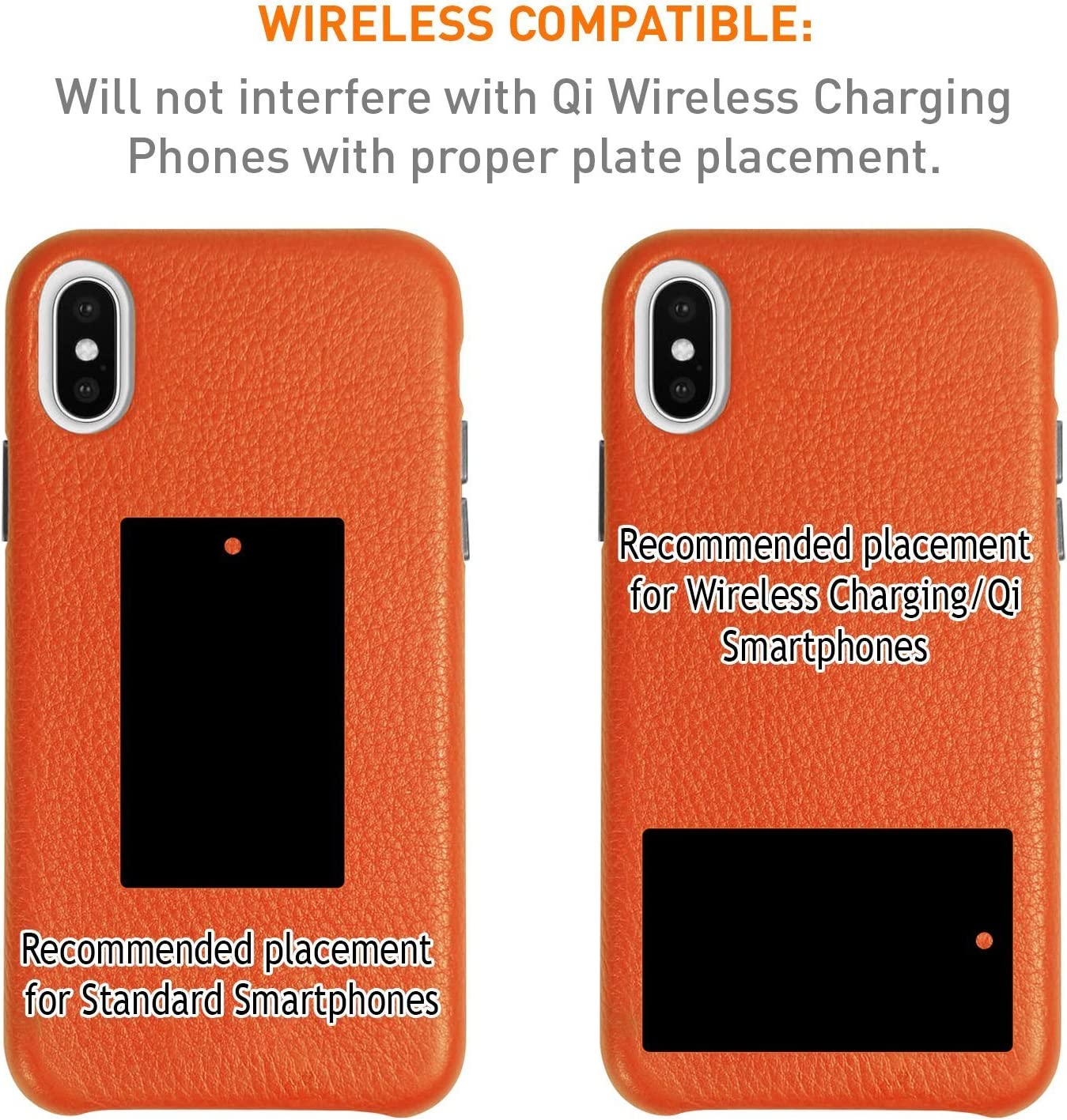 Magnetic Vehicle//Desktop Dock//Mount w// 2 mounting Options Works w//Most Phone and case Combinations Apple MFI Certified ChargeDock iPhone Xs//Xs Max//X // 8//8 Plus // 7//7 Plus // 6