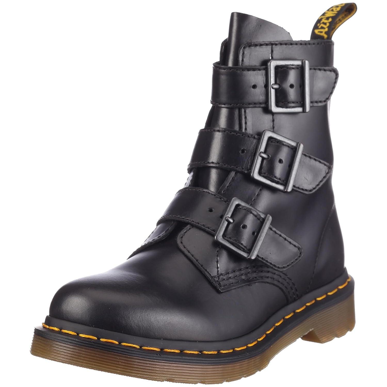Dr. Martens 13665001 BLAKE Buckle Stiefel, Damen Stiefel