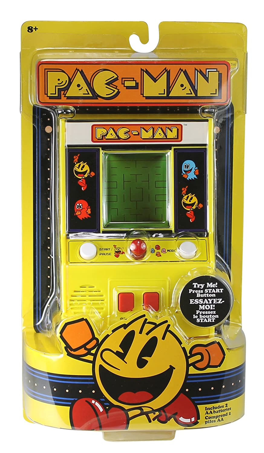 amazon com pac man mini arcade game toys u0026 games