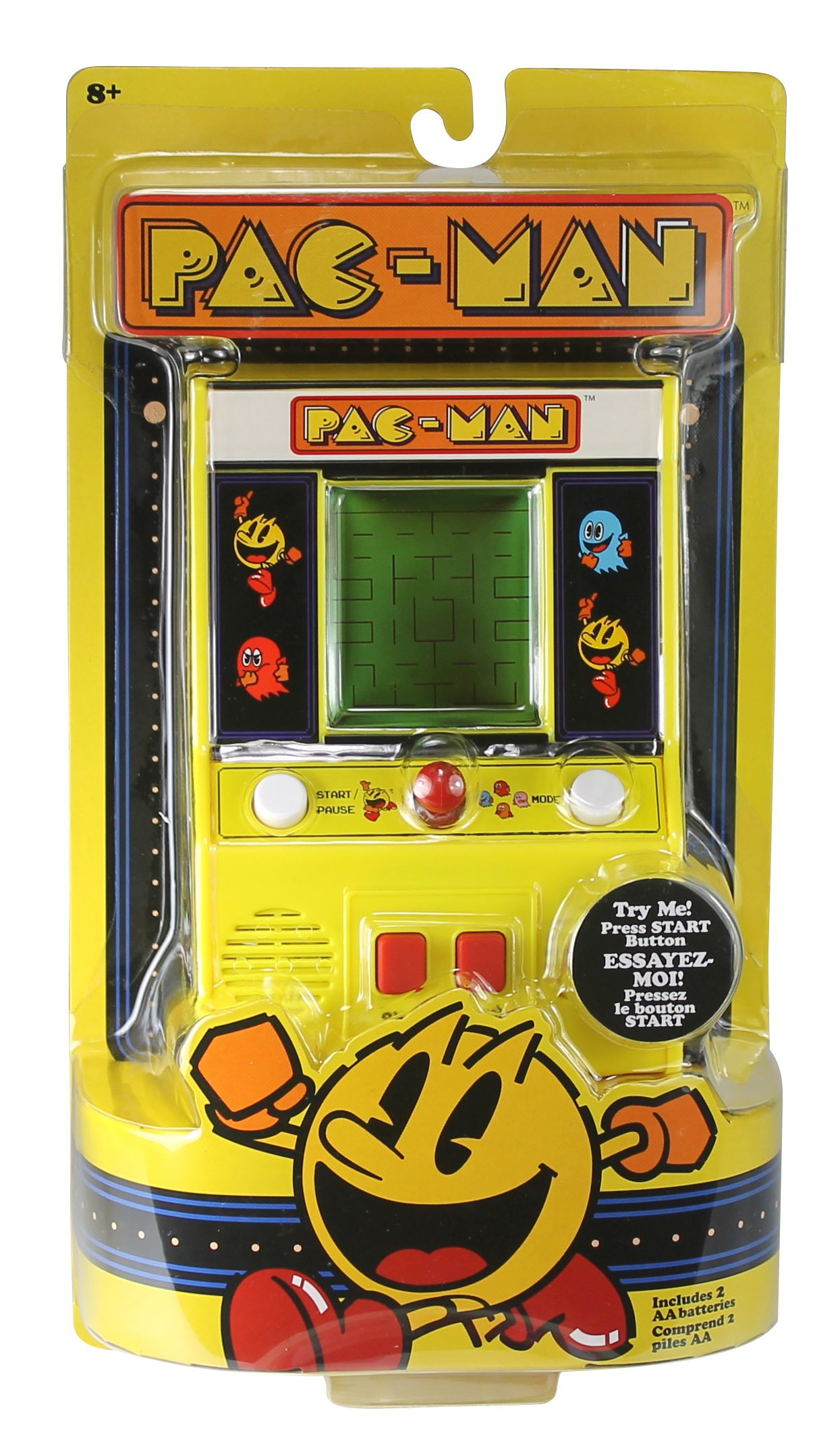 Arcade Classics - Pac-Man Retro Mini Arcade Game by Basic Fun (Image #5)