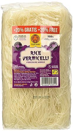 Tiger Khan Noodles Vermicelli - 250 gr - [Pack de 6]