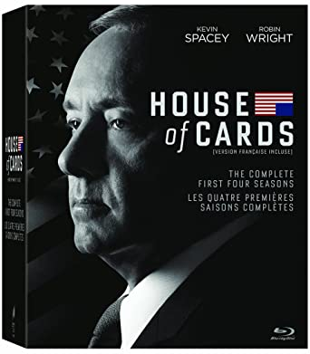 House Of Cards Season 1 4 Blu Ray Amazon Ca Dvd