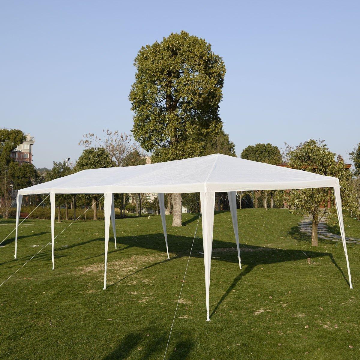 Amazon.com  BenefitUSA Wedding Party Tent Outdoor C&ing 10u0027x30u0027 Easy Set Gazebo BBQ Pavilion Canopy Cater Events  Garden u0026 Outdoor & Amazon.com : BenefitUSA Wedding Party Tent Outdoor Camping 10u0027x30 ...