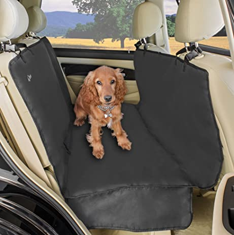 a2s luxury hammock pet seat cover  u0026 cargo cover 3 layers waterproof   extra dog seat amazon     a2s luxury hammock pet seat cover  u0026 cargo cover 3      rh   amazon