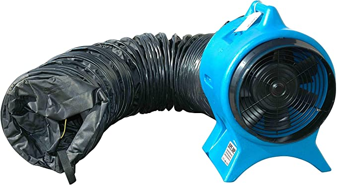 Larson Electronics 0321oxbktkg 25 estática conductiva conducto para epf-e16 – 4450 eléctrico ventilador a prueba de explosión: Amazon.es: Bricolaje y herramientas