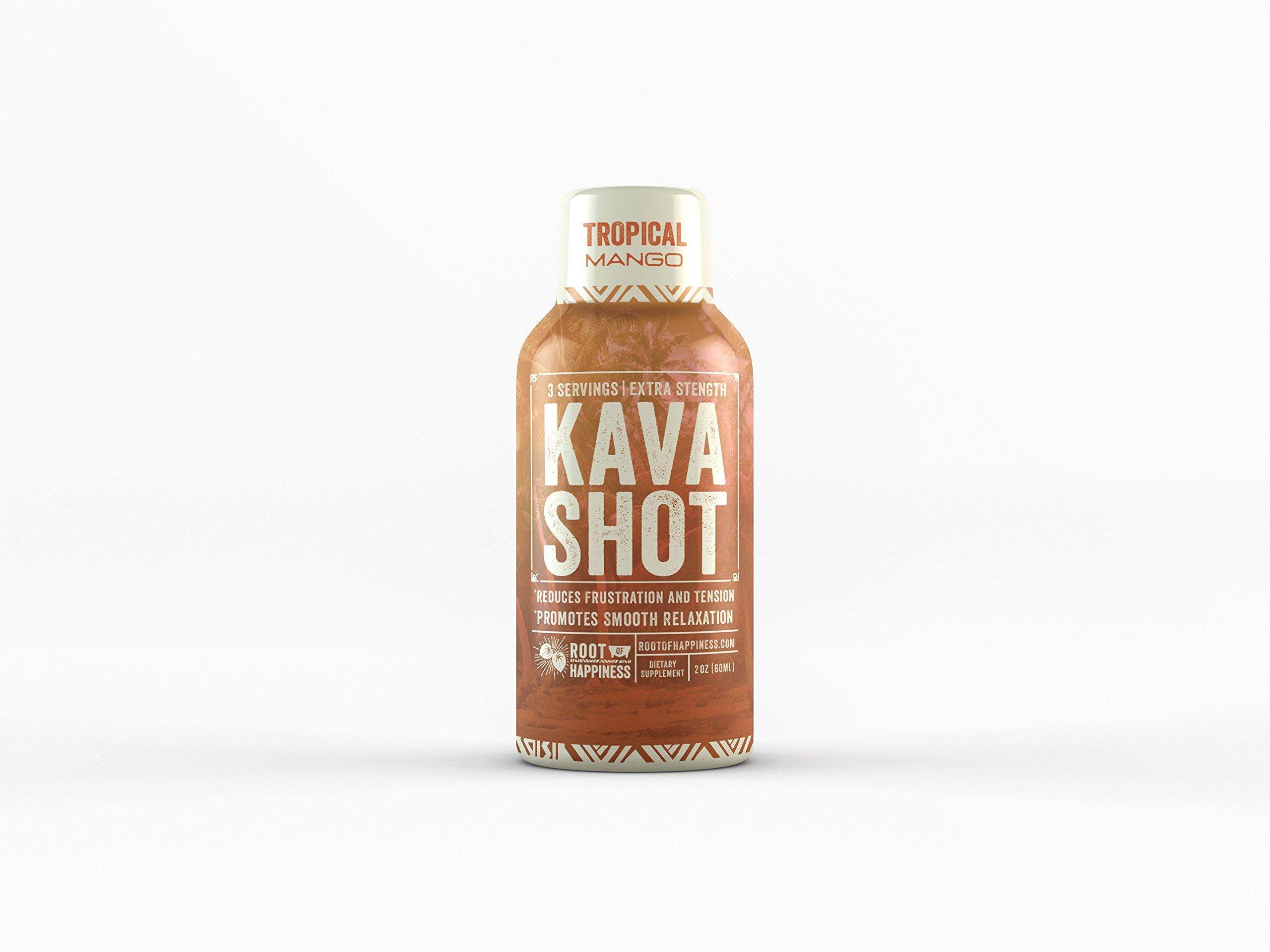 Kava Shot™ 2oz - Tropical Mango Flavor