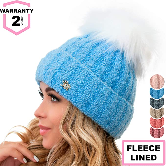 77b191be0cfa8c Braxton Hats Winter Hat (Blue) at Amazon Women's Clothing store: