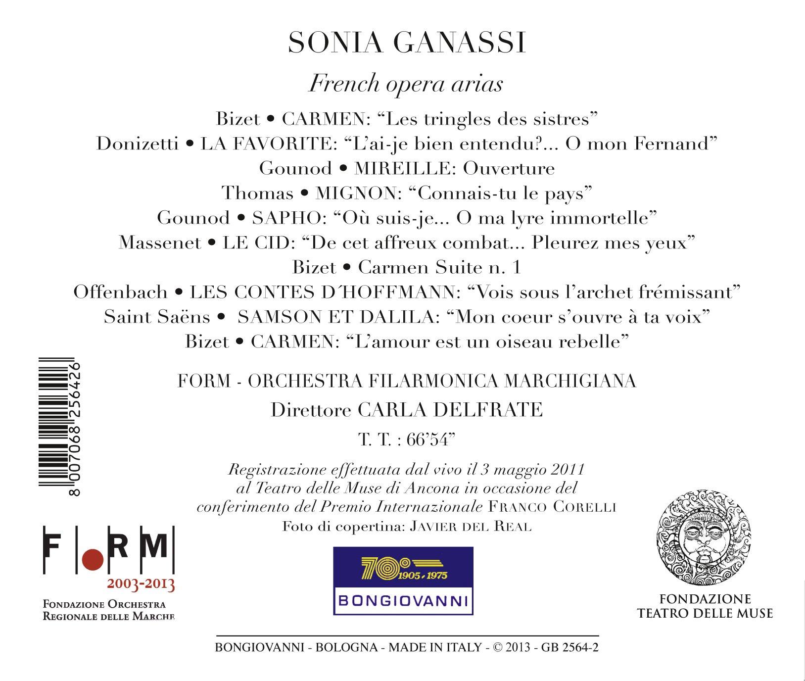 French Opera Arias by Bongiovanni (Image #2)