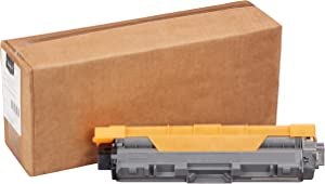 AmazonBasics Remanufactured Standard Yield Toner Cartridge, Replacement for Brother TN221 - Black