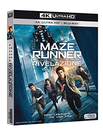 Maze Runner: La Rivelazione 4K Ultra Hd+Blu-Ray Italia Blu ...