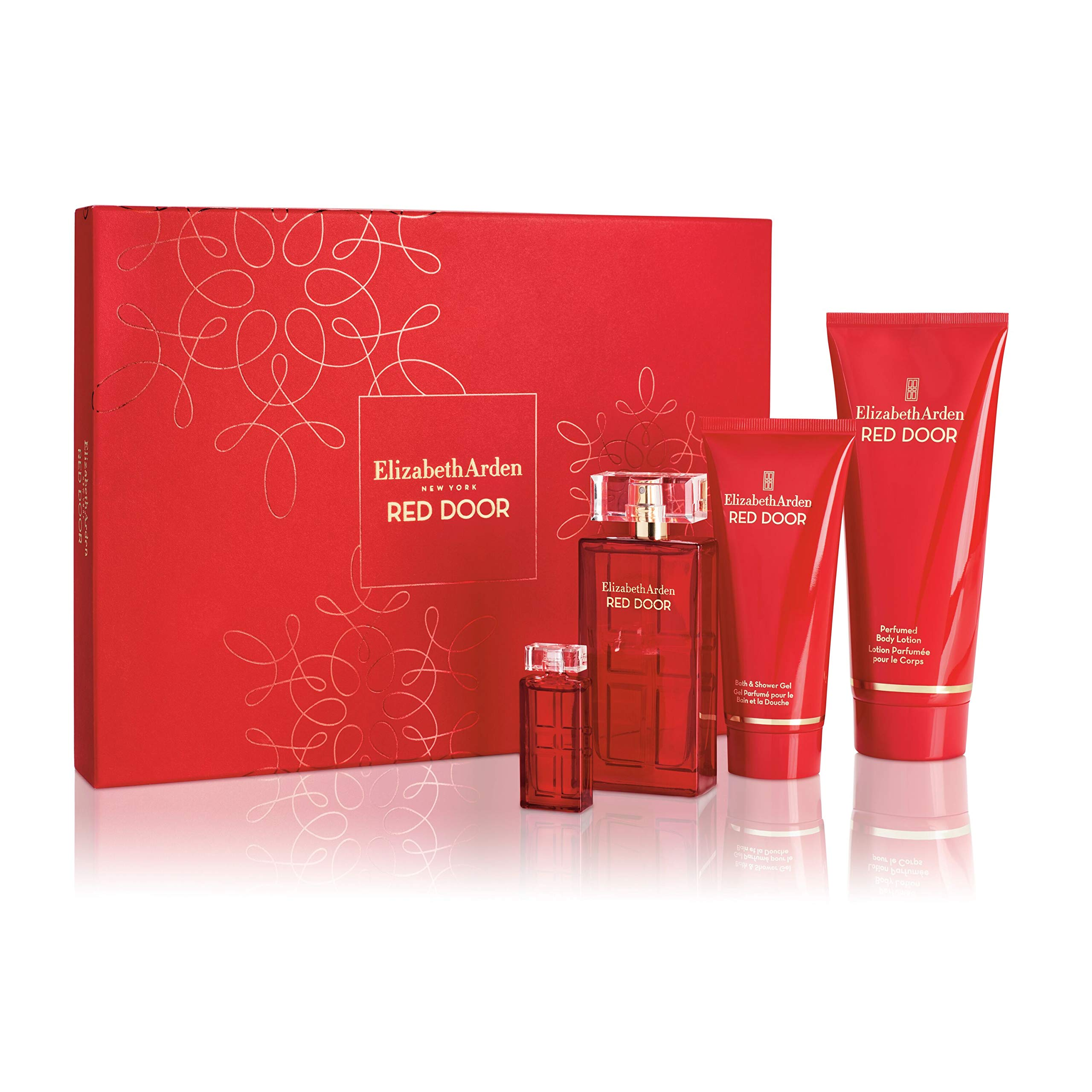 Elizabeth Arden Red Door 4 Piece Fragrance Gift Set, Perfume for Women, 4 ct. by Elizabeth Arden