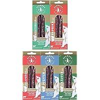 berwork Powerwurst Probierpaket   Die Fitness- und Protein-Wurst als Fleisch-Snack, Wurstsnack und als Protein Snack   viel Eiweiß, wenig Fett, ohne Zusatzstoffe, made in Germany