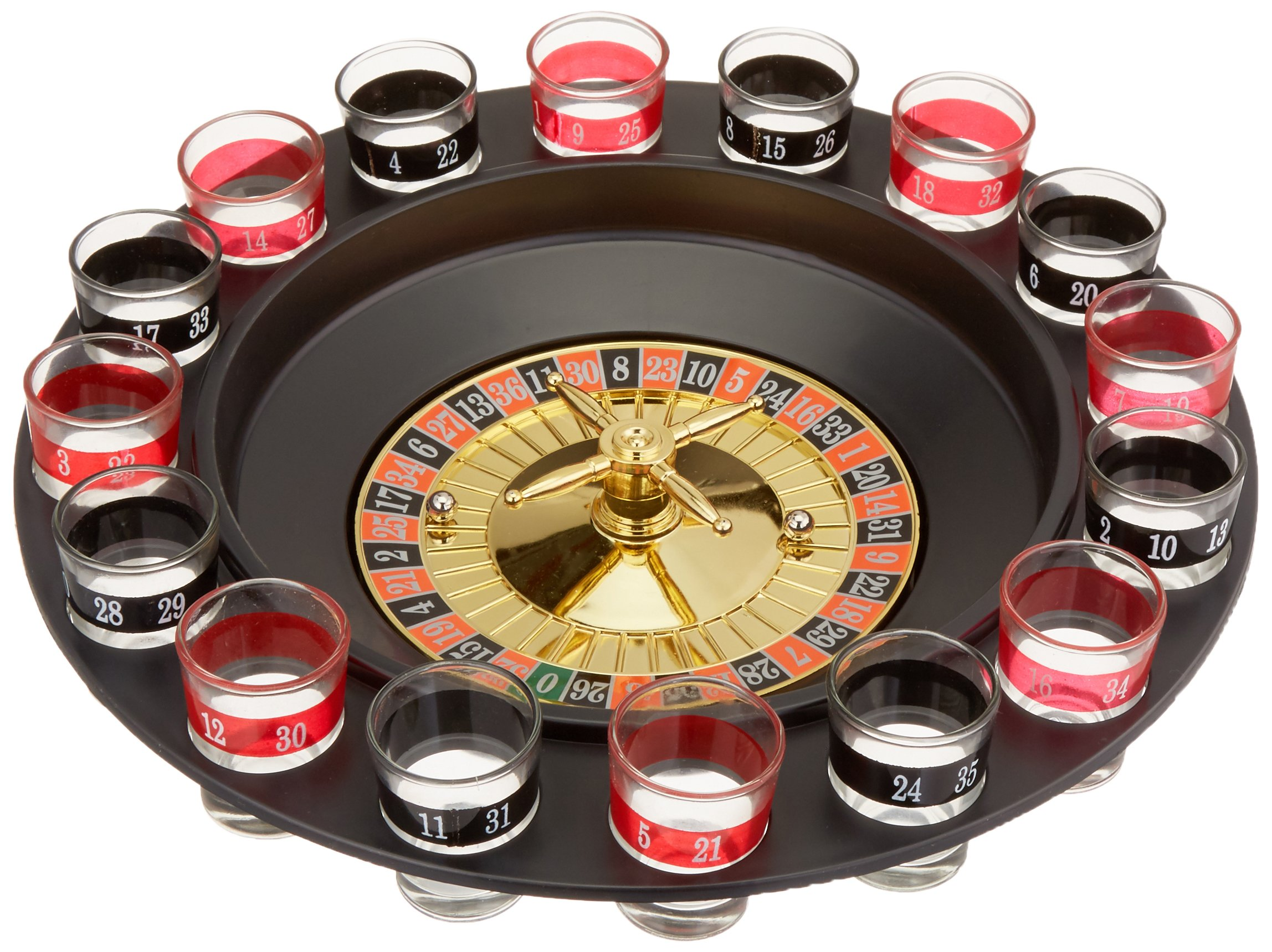 Kole Imports UU492 N/A Roulette Drinking Game