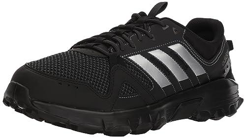 quality design e3d3d d1178 adidas Men s Rockadia m Trail Running Shoe, Core Black Matte Silver Carbon,
