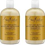 Shea Moisture Raw Shea Shampoo 13 Ounce (384ml) (2 Pack)