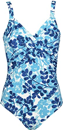 Onades by Red Point Beachwear, Femme, Maillot 1 pièce, Drapé mousse, Samoa