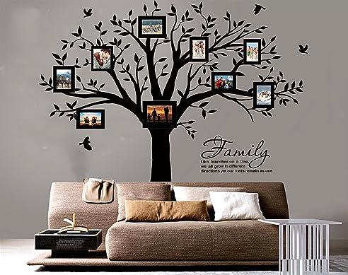 wandtattoo baum schwarz reuniecollegenoetsele. Black Bedroom Furniture Sets. Home Design Ideas