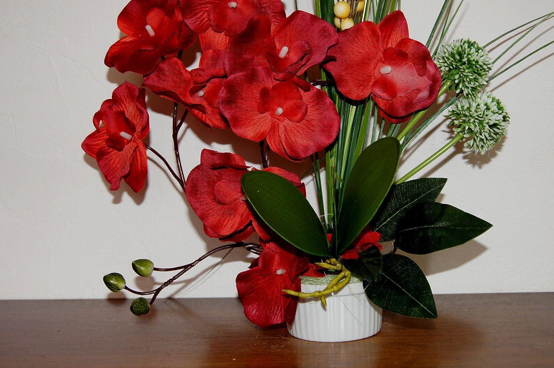 Tatjana Land Deko Orchideen Im Topf Kunstblumen Tischdeko K U