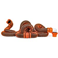 $66 » Camco RhinoEXTREME 20ft RV Sewer Hose Kit - Includes Swivel Fitting and Translucent Elbow…