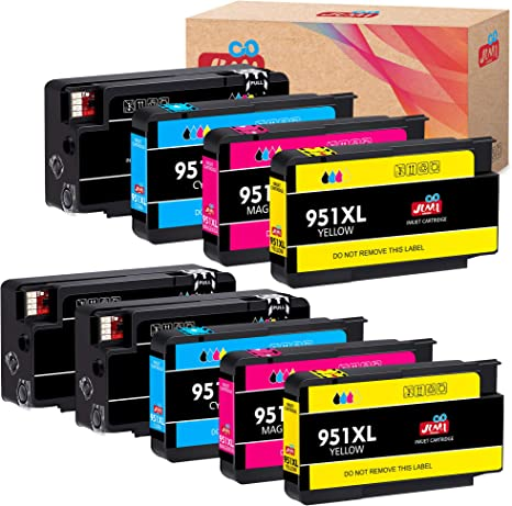 JIMIGO Compatible Ink Cartridge Replacement for HP 950XL 951XL 950 951 for Officejet Pro 8610 8600 8620 8630 8640 8660 8100 8615 8625 251dw 271dw ...