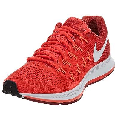 separation shoes c9c73 f9e97 Nike Air Zoom Wmns Pegasus 33Bright Crimson  Amazon.it  Sport e tempo libero