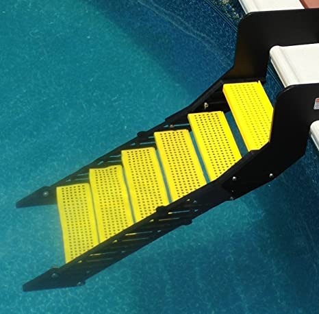 WaterDog Adventure Gear Wag Boarding Steps for Above-Ground Pools - Model  XPM-6