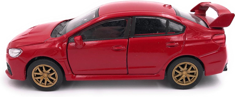 39 Rouge 34-1 Welly Subaru WRX STI mod/èle voiture licence produit 1