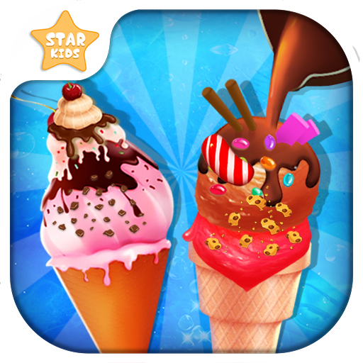 Frosty Ice Cream Maker: Crazy Chef Cooking (Making Baby Games)