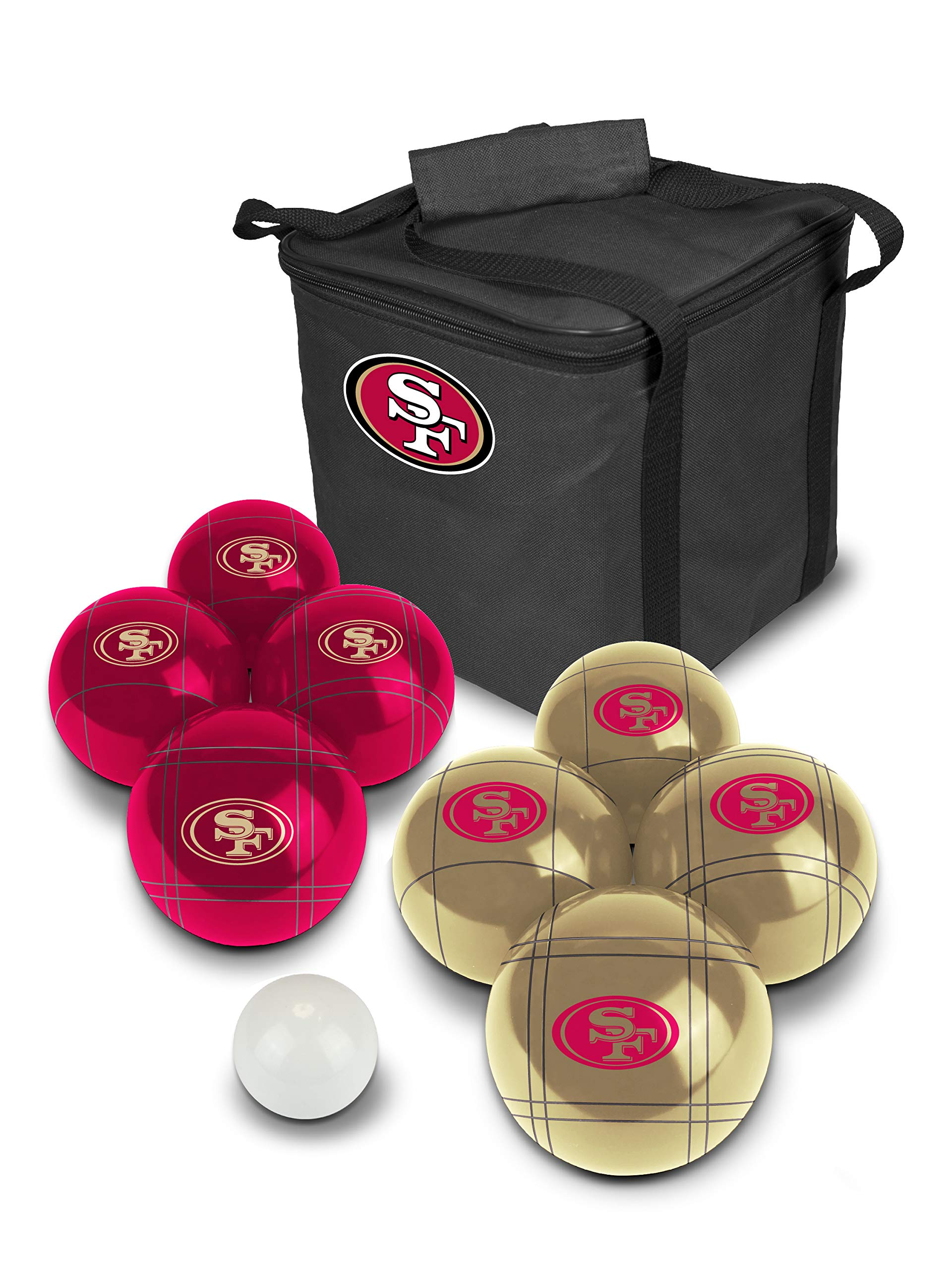 PROLINE NFL San Francisco 49ers Bocce Ball Set by PROLINE
