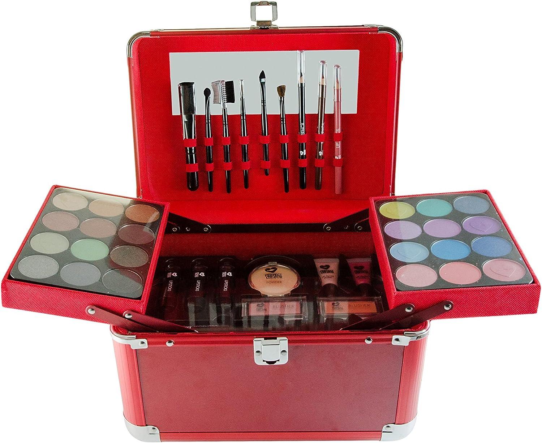 Puzzle perfecto Ultimate Color completo estuche de maquillaje, 128.3 G, rojo: Amazon.es: Belleza