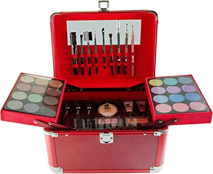 Puzzle perfecto Ultimate Color completo estuche de maquillaje, 128.3 G, rojo: Amazon.es: Belleza
