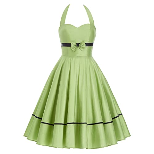 Belle Poque Women Vintage Retro Cocktail Party Dresses 1950s