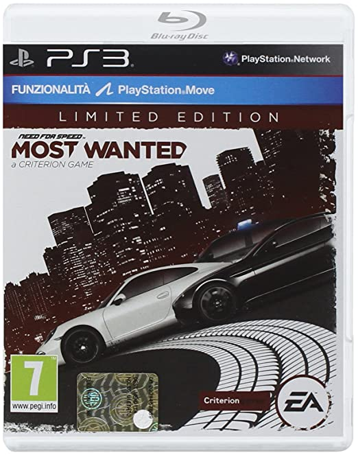 67 opinioni per PS3- Need For Speed: Most Wanted- Limited Edition