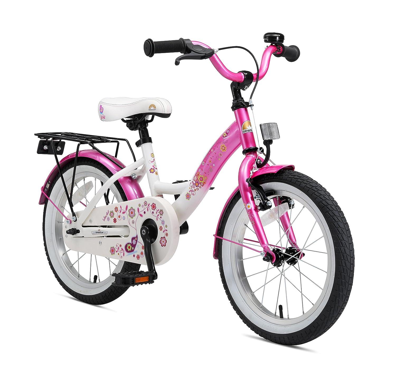 bike*star 40.6cm (16 pouces) Vélo pour enfants Classic Couleur Rose & Blanc B002W46H4U