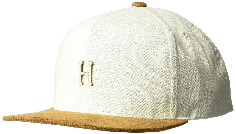 Casquette Strapback Metal H blanc cassé HUF - Ajustable  Amazon.fr   Vêtements et accessoires cdfb041dc91