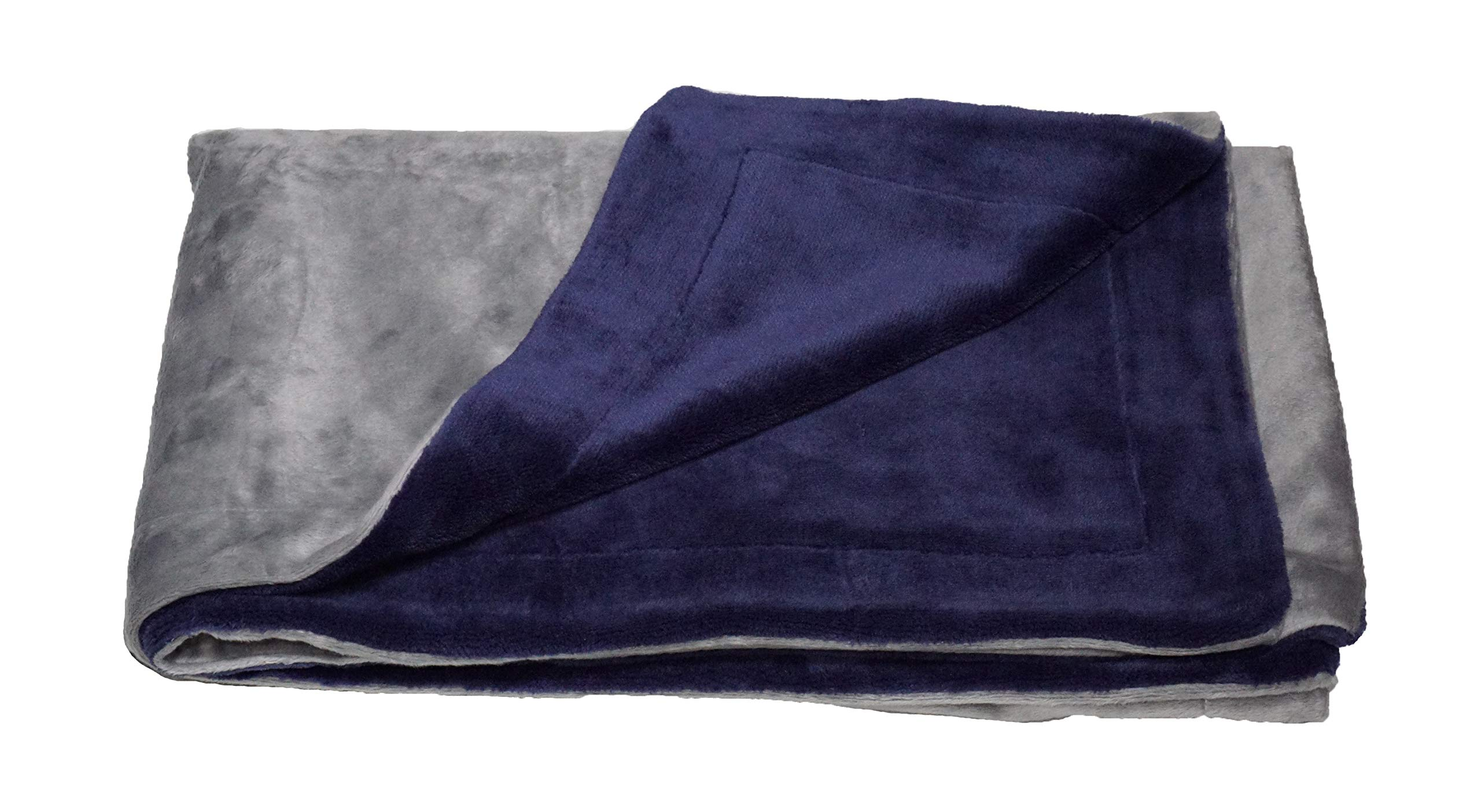 PetBed4Less Premium 100% Waterproof Silky Soft Throw Dog Blanket Cat Blanket with Reversible Duo Layers