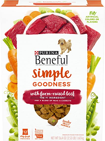 Amazon Com Purina Beneful Dry Dog Food Simple Goodness With Farm
